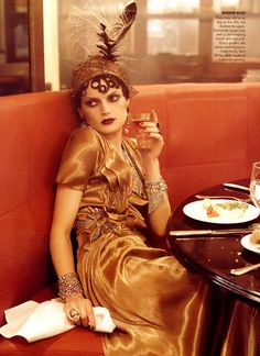 Fashion Editor: Grace Coddington.  Photographer: Steven Meisel  Magazine: US VOGUE  September 2007