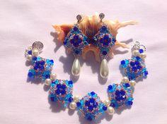 set blue and white Blue And White, Bracelets, Jewelry, Jewlery, Bijoux, Schmuck, Jewerly, Bracelet, Jewels