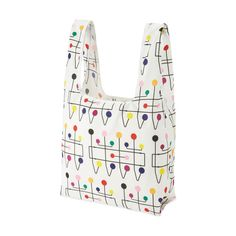 UNIQLO Eames Hang-It-All Pocketable Tote in color Jewelry Shop, Jewelry Accessories, Triangle Bag, Yesterday And Today, Museum Of Modern Art, Jewelry Organization, Beautiful Bags, Modern Jewelry, Uniqlo