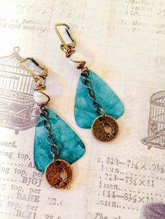 A personal favorite from my Etsy shop https://www.etsy.com/listing/233308138/a-little-birdie-told-me-brass-patina-and