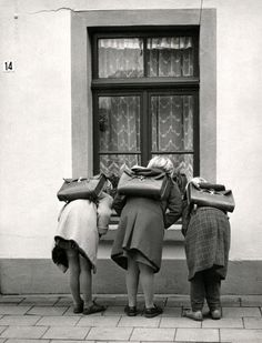 Somewhere in Elten, The Netherlands, 1959