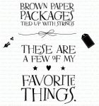 Quoted: Favorite Things Mini Stamp Set