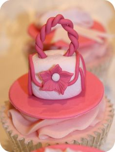 Handbag and Shoes Cupcakes by The Clever Little Cupcake Company (Amanda), via Flickr