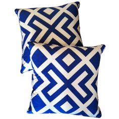 1stdibs - Indian Cotton Printed Pillow with Piping explore items from 1,700  global dealers at 1stdibs.com