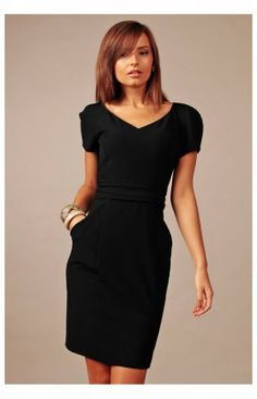 Robe Model Michelle Noir 61433 Vera Fashion