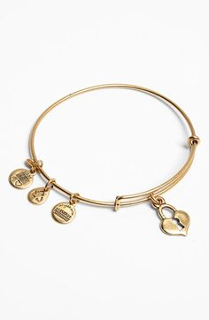 Alex and Ani 'Key to My Heart' Expandable Wire Bangle available at #Nordstrom