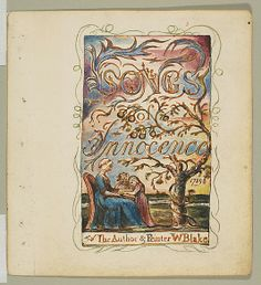 Songs of Innocence: Title Page  William Blake  (British, London 1757–1827 London)