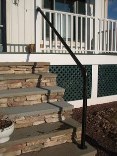 Front Entry Steps Ideas | Twilight Field Journal: 12: Front Steps Handrails