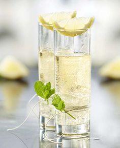 Port-o-nic | Colruyt: 0.25 citroen 5 cl witte porto 10 cl tonic 1 takje munt (vers)gemalen ijs