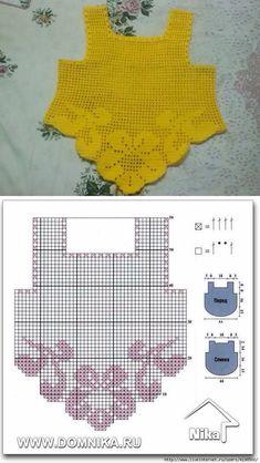Fabulous Crochet a Little Black Crochet Dress Ideas. Georgeous Crochet a Little Black Crochet Dress Ideas. Crochet Toddler, Diy Crochet Sweater, Crochet Girls, Crochet Baby Clothes, Crochet Blouse, Filet Crochet, Crochet For Kids, Crochet Shawl, Diy Crafts Crochet