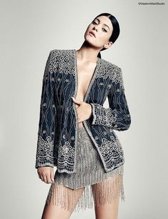 kendall kylie jenner5 Sister Act: Kendall + Kylie Jenner Pose for Marie Claire Latin America by Vladimir Marti