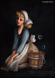 """""""Cinderella was abused, humiliated, and finally forced to become a servant in her own house. And yet, through it all, Cinderella remained ever gentle and kind"""" - Cinderella, 1950"""