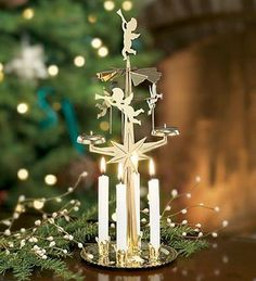 Christmas Traditions - Scandinavian Christmas Angel Chimes