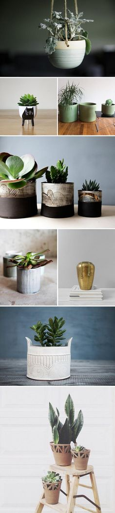 If bringing a little green into your home is at the top of your to-do list, don't miss our expert forecast of six trending houseplants for 2016 — plus tips on the perfect planters to pot them in. Read (and shop) the full story now on the Etsy Blog. #etsyhome