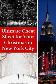 What You Need to Know for a Successful Christmas in New York City