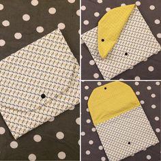 Voici un tutoriel et un patron pour réaliser votre propre pochette pour la serviette de la cantine de votre bout'chou ! Le tuto est très simple et accessible aux débutant(e)s, il permet également d'utiliser les chutes de tissus ...