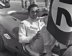 Pedro Rodriguez, Ferrari 312P, Bridghampton CanAm 1969 (dogfightmag)...