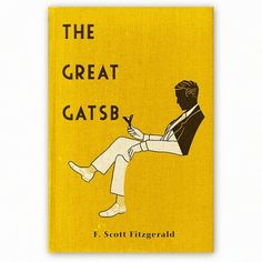 The Great Gatsby :: F. Scott Fitzgerald  from Make Something 365 on the Behance Network via Designspiration
