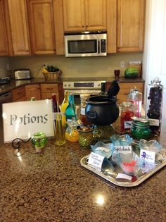 Puddle Wonderful Learning: Harry Potter Party: Potions Class