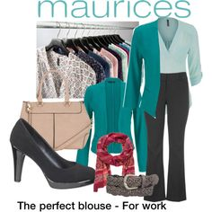 The Perfect Blouse with maurices: Contest Entry by shistyle on Polyvore featuring maurices