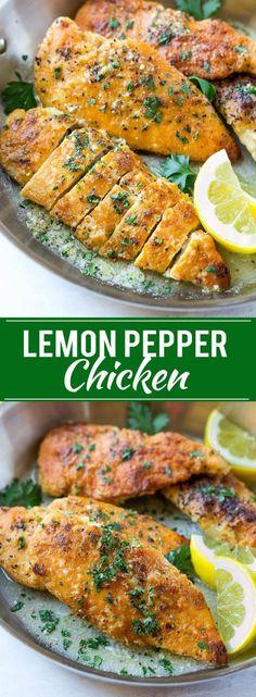Lemon Pepper Chicken Recipe | Lemon Pepper | Easy Chicken Recipe | Chicken Dinner Recipe | Lemon Chicken