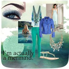 """Iridescent Summer"" by glimhiril on Polyvore"