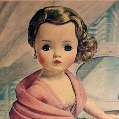 Madame Alexander's Cissy for Yardley 1950
