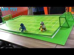 Interesting Football Robot Game-1 Intelligent Robot, Basketball Court, Soccer, Game 1, Programming, Dancing, Football, Sports, Hs Sports