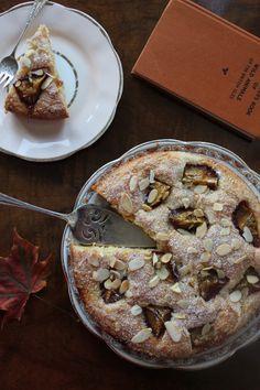 Everything Looks Rosie: Plum, Almond and Ricotta Cake