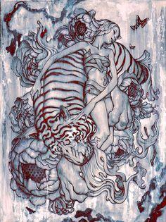 "ARTIST: James Jean (Taiwan/US) ""Taiwanese Surrealist"" | via: #Yellowmenace | ● See all 40+ Artworks @ http://blog.yellowmenace.net/2017/04/art-james-jean-taiwanese-surrealist.html | #TaiwaneseArtist @JamesJeanArt"