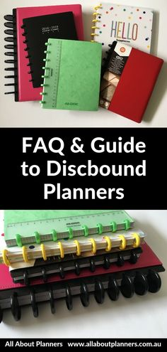Check out this discbound planner faq ultimate guide. Find out how to make discbound binding work, the importance of ring size, if brand punches are compatible and a whole lot more! Arc Planner, Passion Planner, Planner Tips, Planner Layout, Erin Condren Life Planner, Planner Pages, Printable Planner, Planner Stickers, Printables
