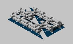 University of Belgrade / Faculty of architecture // bachelor project 2016 // mixed-use megastructure // student luka buncic