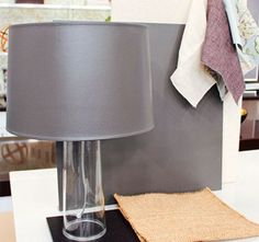 How to Paint a Lampshade (never tried it, but now i know how!)
