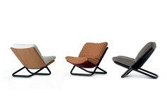 Cross Low Armchair by Marcello Cuneo for Arflex | Poliform Australia