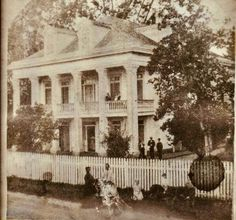 Cabahanoce Plantation House. West Bank of the River Road, LA. Destroyed by the Mississippi River, c. 1912. Old Mansions, Abandoned Mansions, Abandoned Houses, Abandoned Places, Old Houses, Southern Plantation Homes, Southern Mansions, Southern Homes, Abandoned Plantations