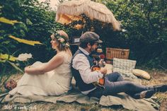 Vintage After-Wedding Shooting - FrauGlück und HerrLich