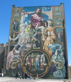 Art philadelphia street art murals on pinterest for Common threads mural
