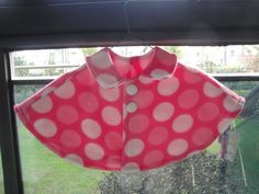 fleece poncho pattern