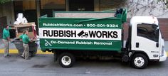 Junk Removal - Hauling - Recycling - Pick Up | Rubbish Works http://www.rubbishworks.com/phoenix