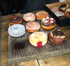 Crosstown Doughnuts in London, Greater London $$ Amazing fillings & flavours