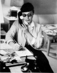 She really was one of a kind.  Edith Head.
