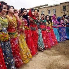 Wedding dance in the Iranian Kurdistan