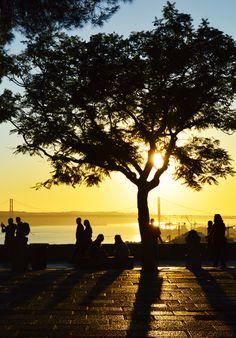 Lisbon Sunset.