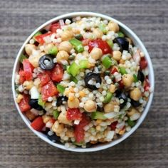 Israeli Couscous Salad recipe