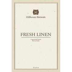 Hillhouse Naturals Sachet 0.6 Oz. - Fresh Linen
