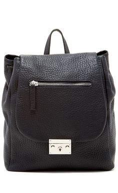black backpack purse, leather bags