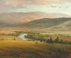 Parke holds a deep respect for the long held traditions of representational art. As a painter of western landscapes, Parke is strongly influenced by the Hudson River School. His objective is not to copy what he sees, but to capture the emotion. The result is a sensitive depiction of nature, best described as a romantic landscape.