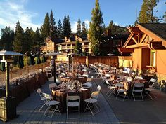 Pines Resort on Bass Lake Central California Weddings Sierra National Forest Wedding Venues 93602 Forest Wedding Venue, Wedding Venues Texas, California Wedding Venues, Wedding Reception Locations, Bass Lake, Yosemite Wedding, Lake Resort, Central California, Lake View