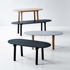 Savannah Coffe Tables, Monica Föster, Erik JØrgensen, 2016.