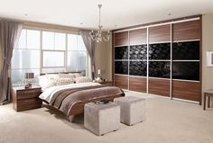 Styles of fitted wardrobes